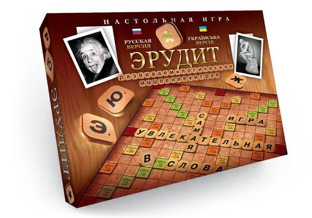 Настольная игра Danko Toys Эрудит украинский и русский
