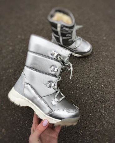 Зимние термо ботинки-дутики тм.Weestep р.28