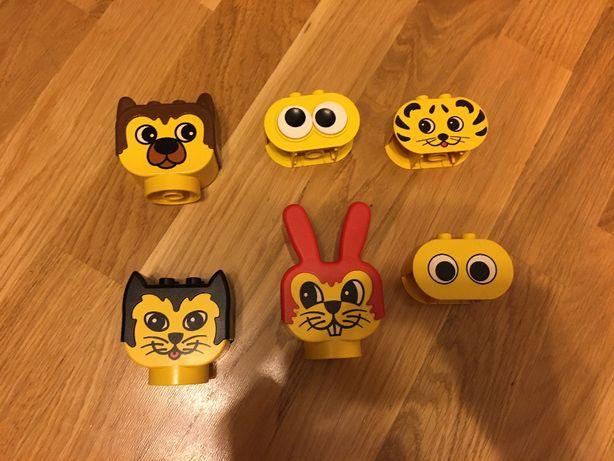 Lego Duplo Główki 6 szt