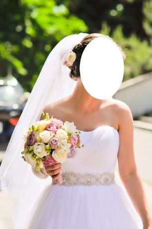 Suknia ślubna 34/36 princessa