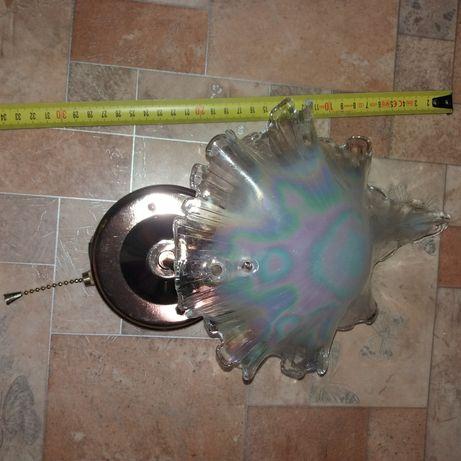 Бра светильник НОВЫЙ ночник настенный Ракушка перламутр стеклянный