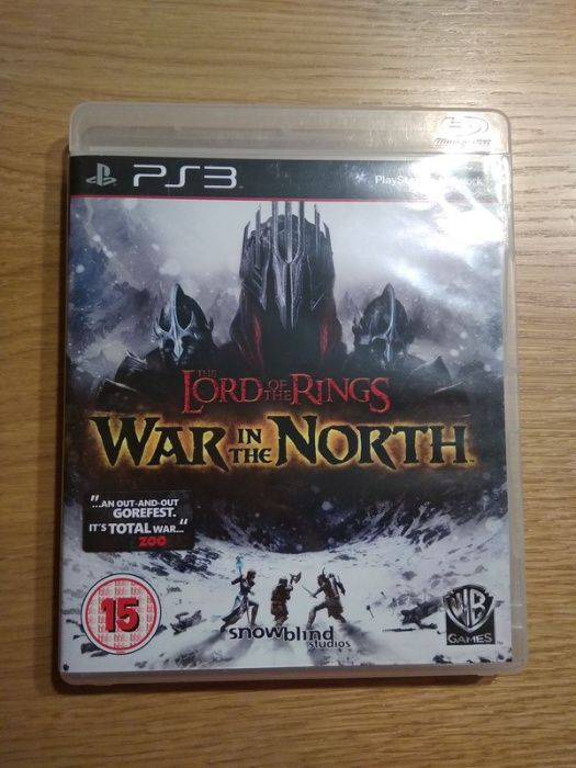Gra Lord od the Rings, War in the North, PS3 Kraków - image 1