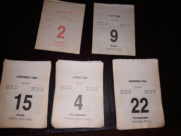 kartki z kalendarza 1994rok