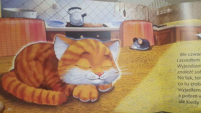 Mój tydzień jako kot Łukasz Porawski Bajka o kotku Bajki o zwierzętach
