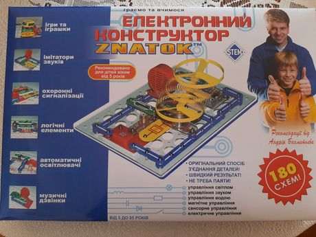 Електронний конструктор Znatok