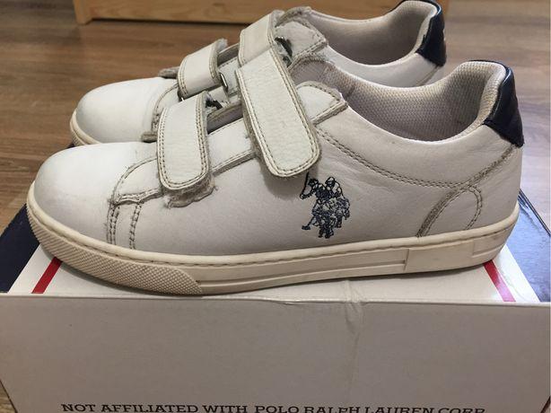 Детские туфли U.S. Polo Assn. 31 размер, кожа 100%