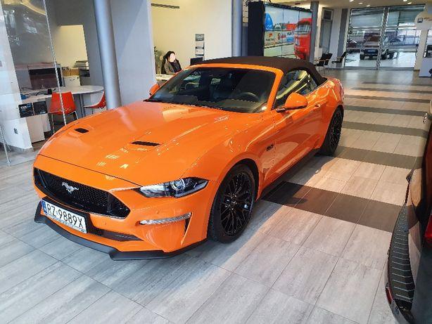 Wynajem aut sportowych, wypożyczalnia samochodów FORD MUSTANG CABRIO