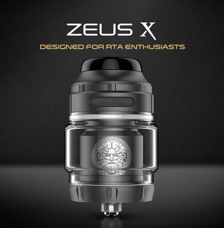 Zeus X RTA бак, атомайзер, обслуживаемый, непроливайка Лучшее качество