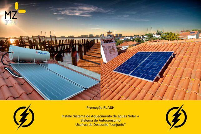 Painéis Solares Fotovoltaicos e Térmicos | Tomadas Veículos Elétricos