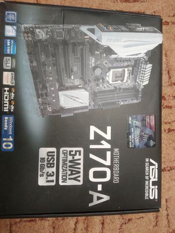 Комплект i5-6600 и Asus Z170-A