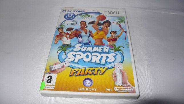 Summer Sports Party gra do Nintendo Wii