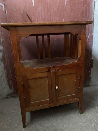 антикварная тумба - комод из дерева, под старину, лофт.