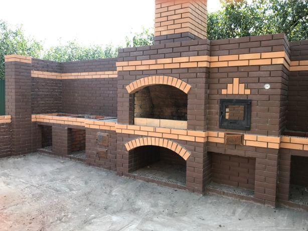 Строительные Работы (кирпич, мангалы, тротуарная плитка, крыши)