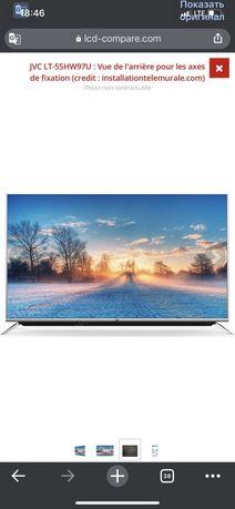 Телевизор 55'JVC LED ultra hd 4k ultra hd 140 cm Jvc LT- 55HW97U