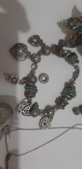 Бижутерия браслет в стиле pandora