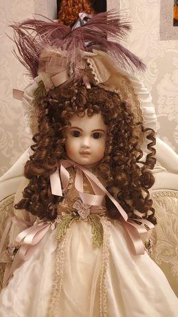 фарфоровая коллекционная кукла от Patricia loveless