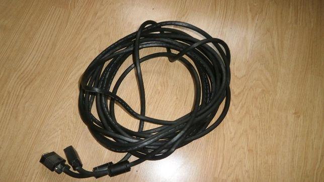 kabel połaczeniowy komputer monitor 10 metrów sprzedam
