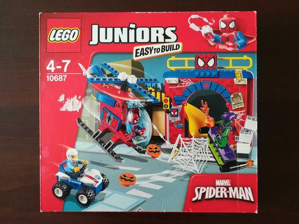 Klocki LEGO Juniors 10687 (Kryjówka Spider-Mana) - NIE ROZPAKOWANE