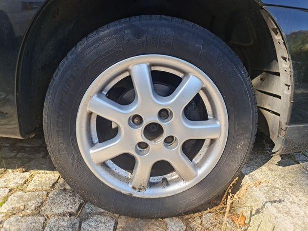Jantes r14 4x100 com pneus