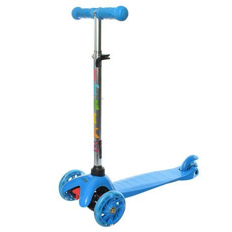 Самокат детский iTrike BB 3-013-4-C трехколёсный синий