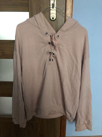 Bluza oversize z wiązaniem H&M rozmiar S
