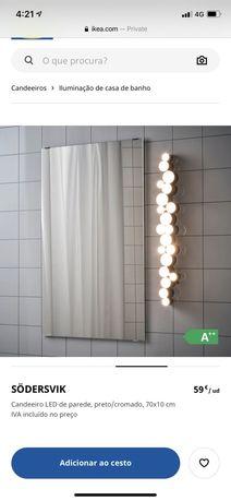 Iluminacao casa de banho