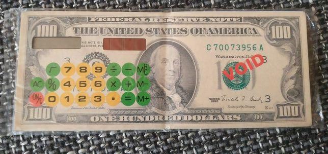 Сувенир доллар калькулятор блокнот