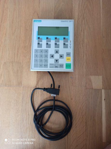 Sterownik simatic Siemens op-7 dp operator panel