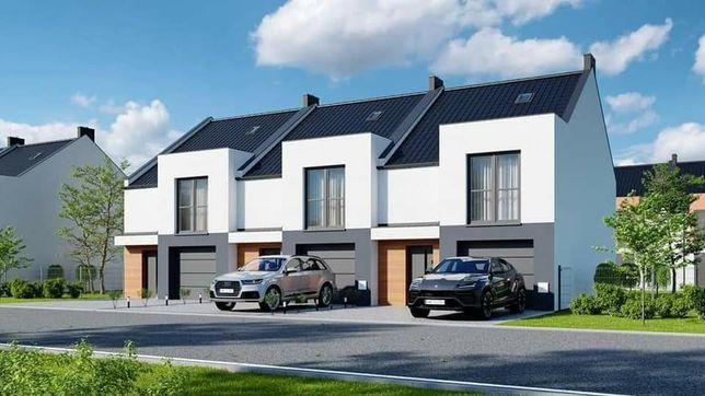 Domy wysoki standard różne wielkości działek