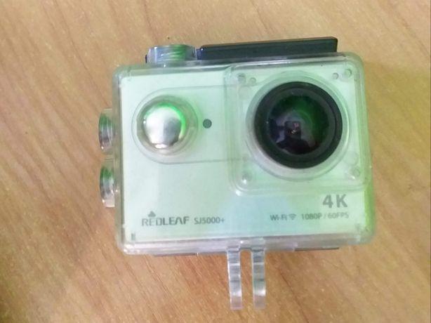 Kamera sportowa REDLEAF SJ5000+ +akcesoria (4K / 1080p/60fps)