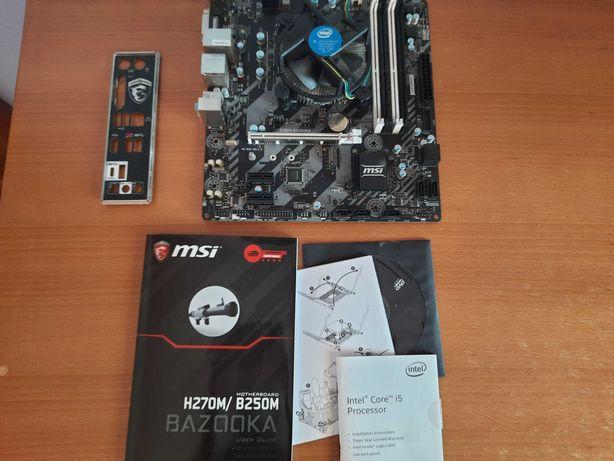 i5 7500 + Motherboard MSI b250M