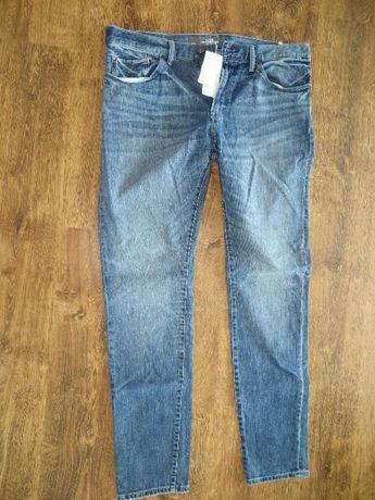 Jeansy męskie H&M, nowe, z metkami