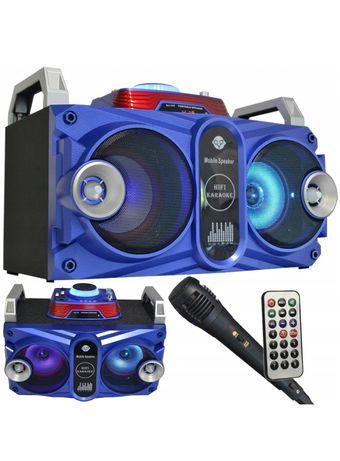 Głośnik boombox MP3 Bluetooth Mikrofon Radio