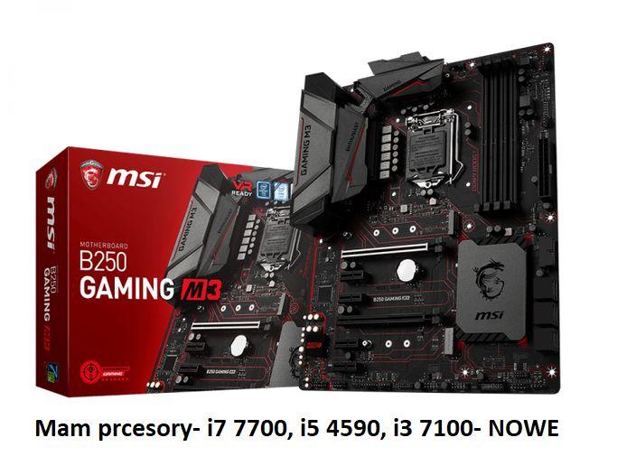 Płyta główna- MSI B250 GAMING M3 (2xPCI-E DDR4 USB3.1/M.2). Polecam. Warszawa - image 1