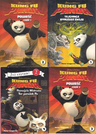 4 x Kung Fu Panda Tajemnica Smoczego Zwoju Powieść