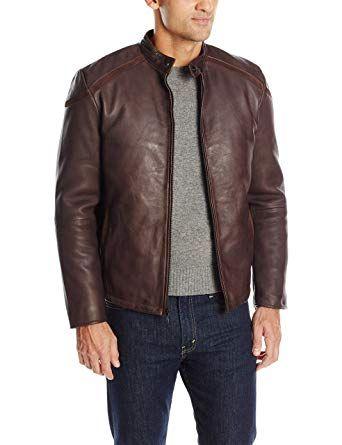 Куртка кожаная Emanuel Ungaro
