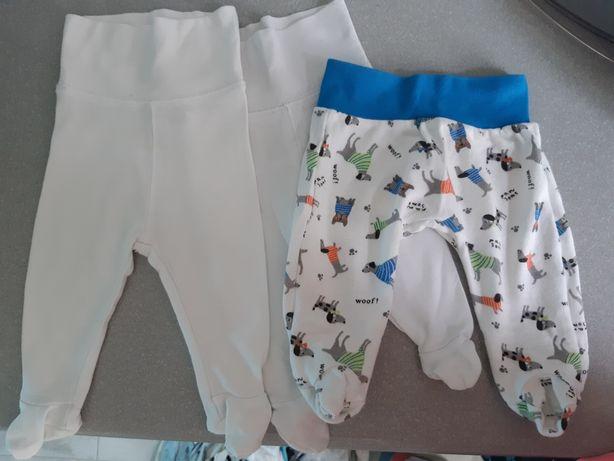3 x półspiochy niemowlęce H&M, Pepco, rozmiar 50-56 cm