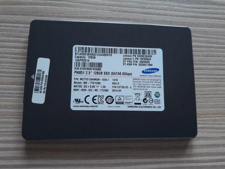 Dysk SSD Samsung PM851 128GB 2,5 cala 7mm 6GB/s SATA 3 TLC IDEAŁ
