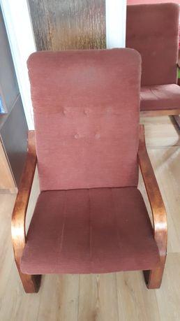 Dwa fotele bardzo wygodne