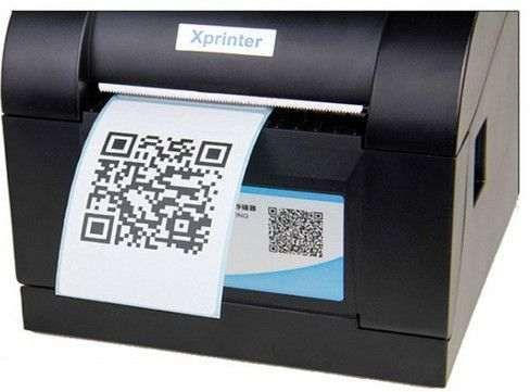 Xprinter XP-365 NEW Термопринтер штрих кодов как Zebra печать наклеек