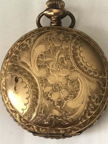 Zegarek Kieszonkowy Trans pacific 21 jewels Langendorf w.c.