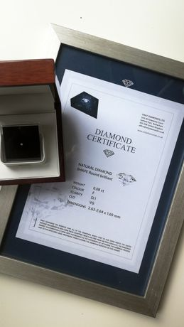 Diament naturalny brylant onlydiamonds