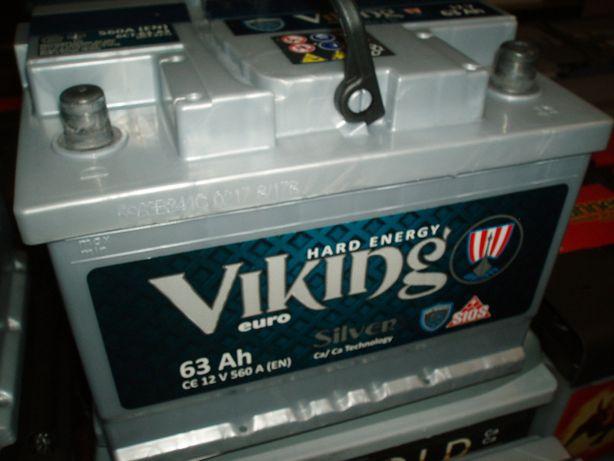 Akumulator 12V 63Ah Viking Silver Megatex nowy Kielce-dowóz gratis!!!