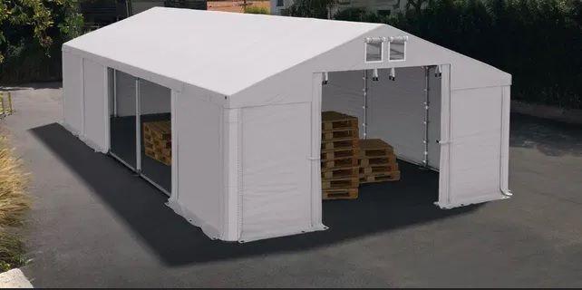 -34%Promocja 6x12x3m NAMIOT MAGAZYNOWY całoroczny hala namiotowa fi50m