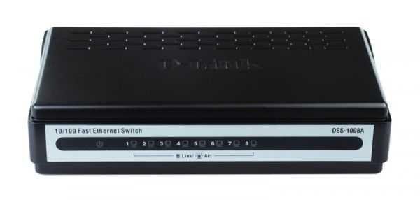 Cвитч D-Link DES-1008A/B1