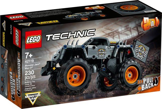 Lego Technic 42119 Monster Jam Max-D Wys24