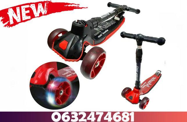 Scooter x7 Складной Cамокат / Самокат Усиленный Кул Мастер Опт/Розница
