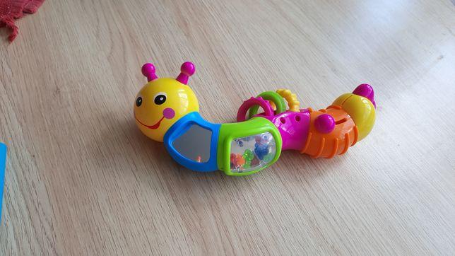 """Погремушка/ игрушка Limo Toy """"Гусеница"""""""