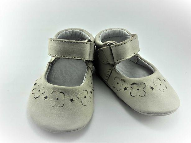 Sapatos Balancê White-Flower Branco