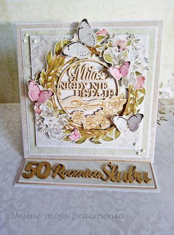 Kartka okolicznościowa rocznica ślubu